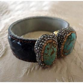 http://lindasilverdesigns.com/shop/1306-thickbox_default/druzy-double-leather-cuff-bracelet.jpg