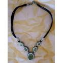 Druzy Stones Four Drop  Necklace- Gorgeous